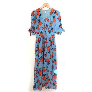 Free People Love of My Life Printed Midi Dress